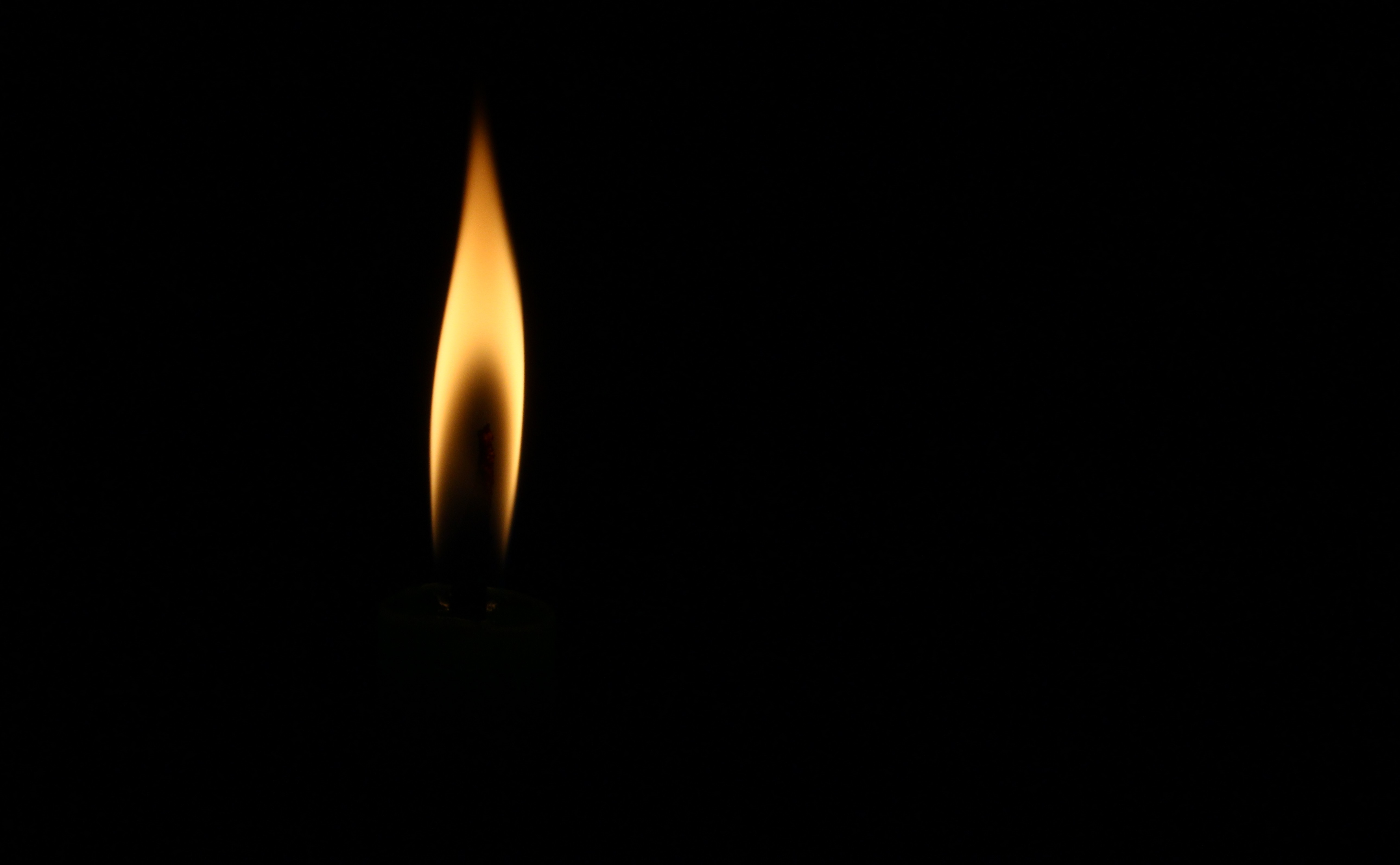 Black Flames Background