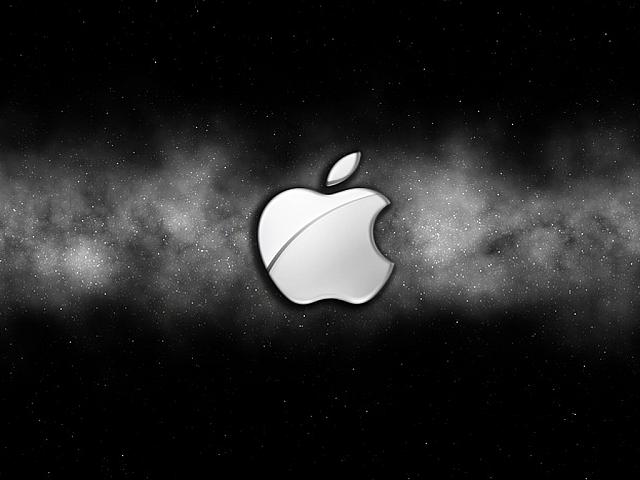 apple-black-background