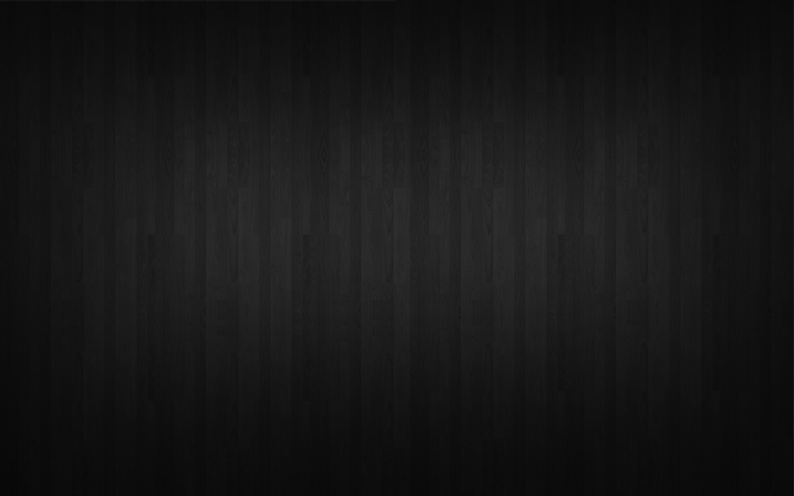 Wallpapers Black Wood 2560x1600
