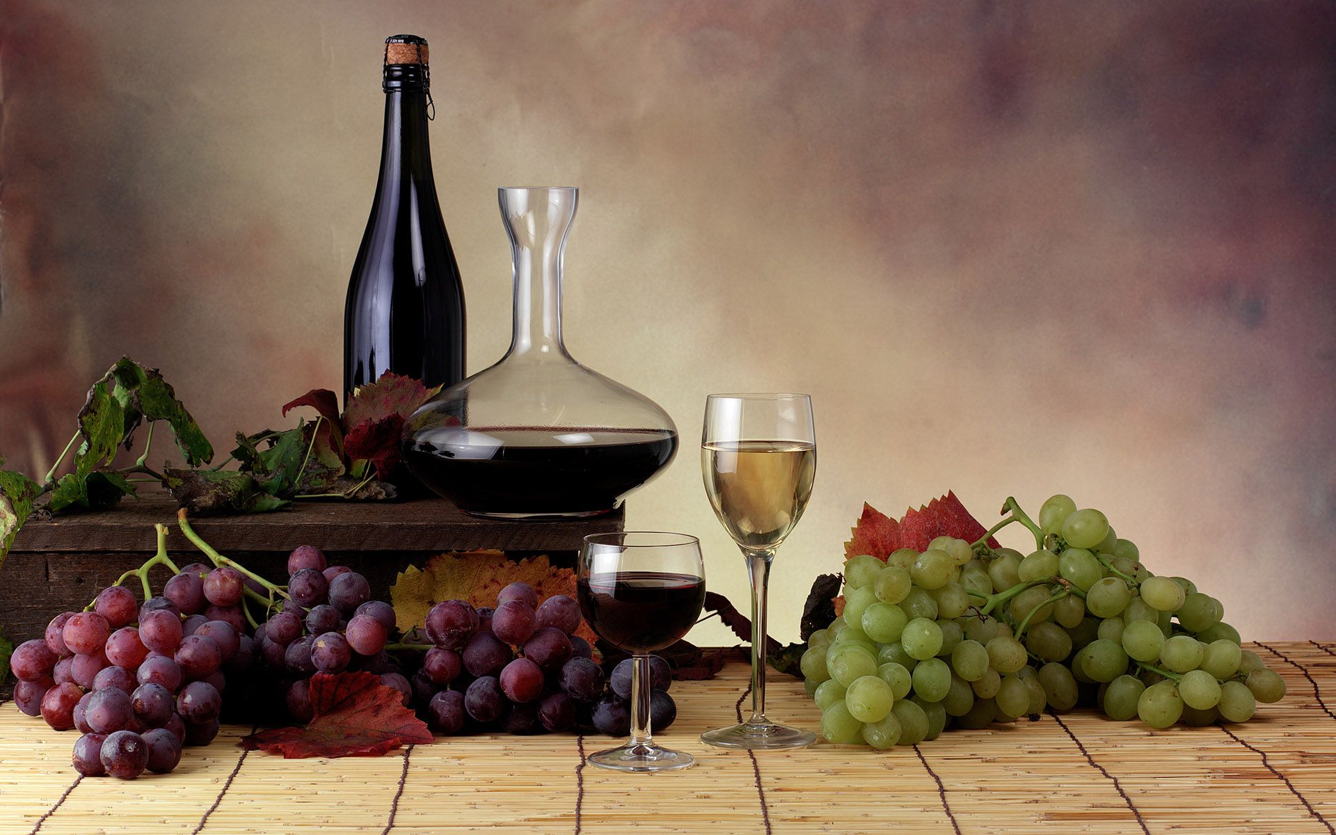 food, grapes, wine Wallpaper