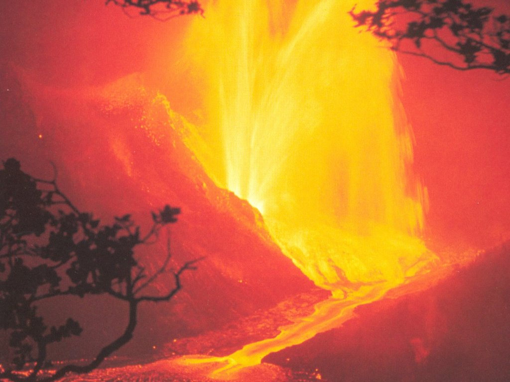 Download Volcano Lava wallpaper, lava burst