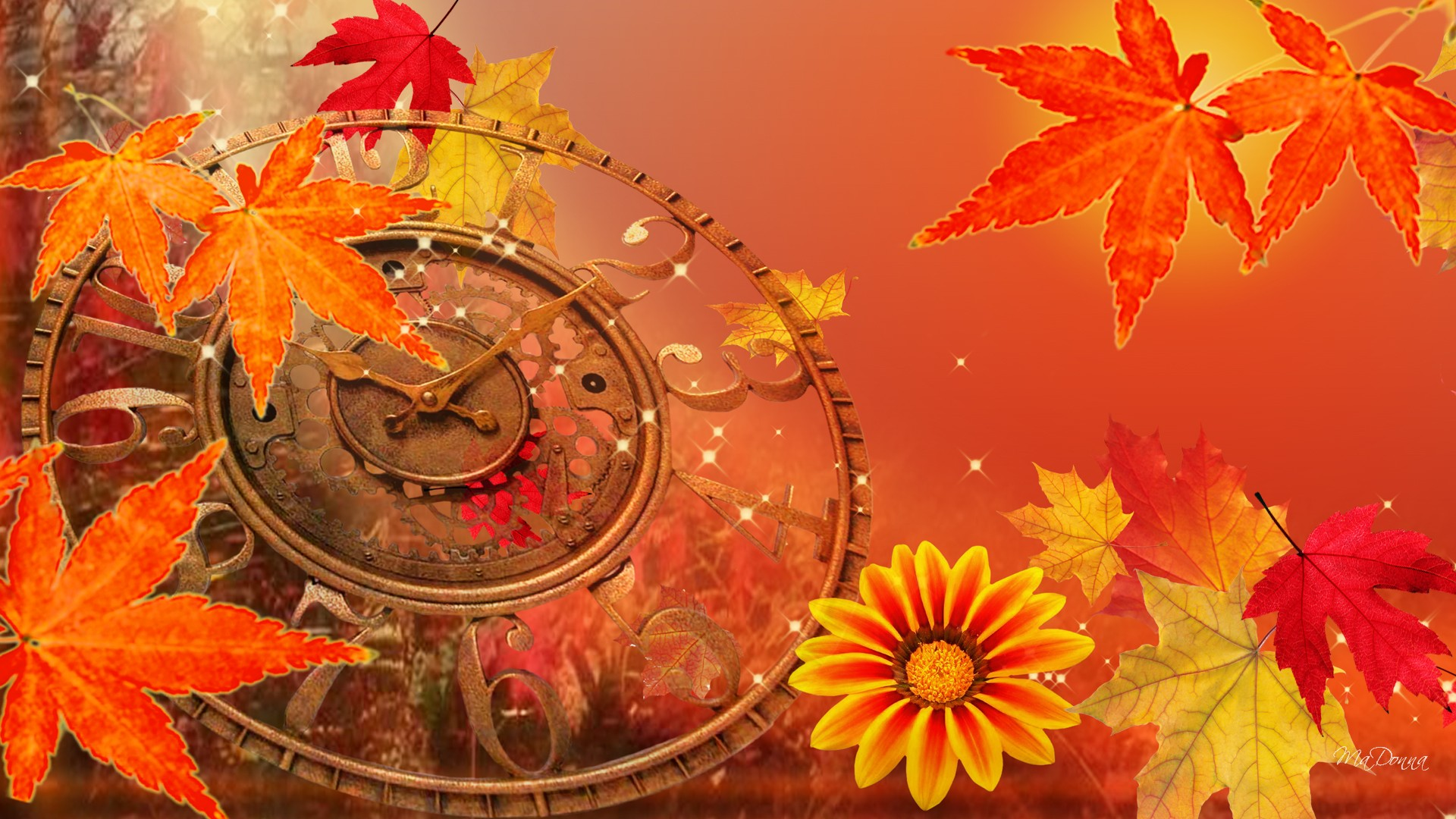 Clock Falling Back 1920x1080 Full HD Wallpaper , Free Wallpaper ID