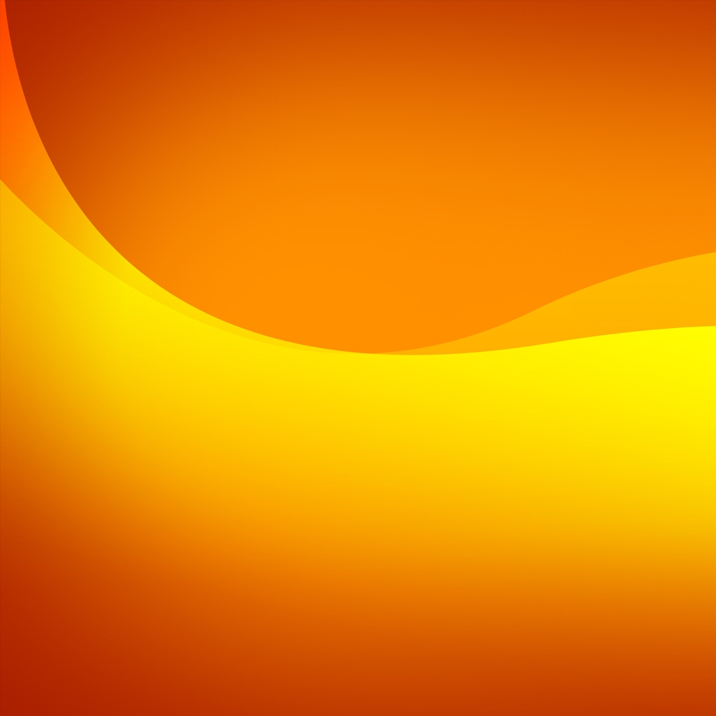 Orange and Yellow iPad Wallpaper