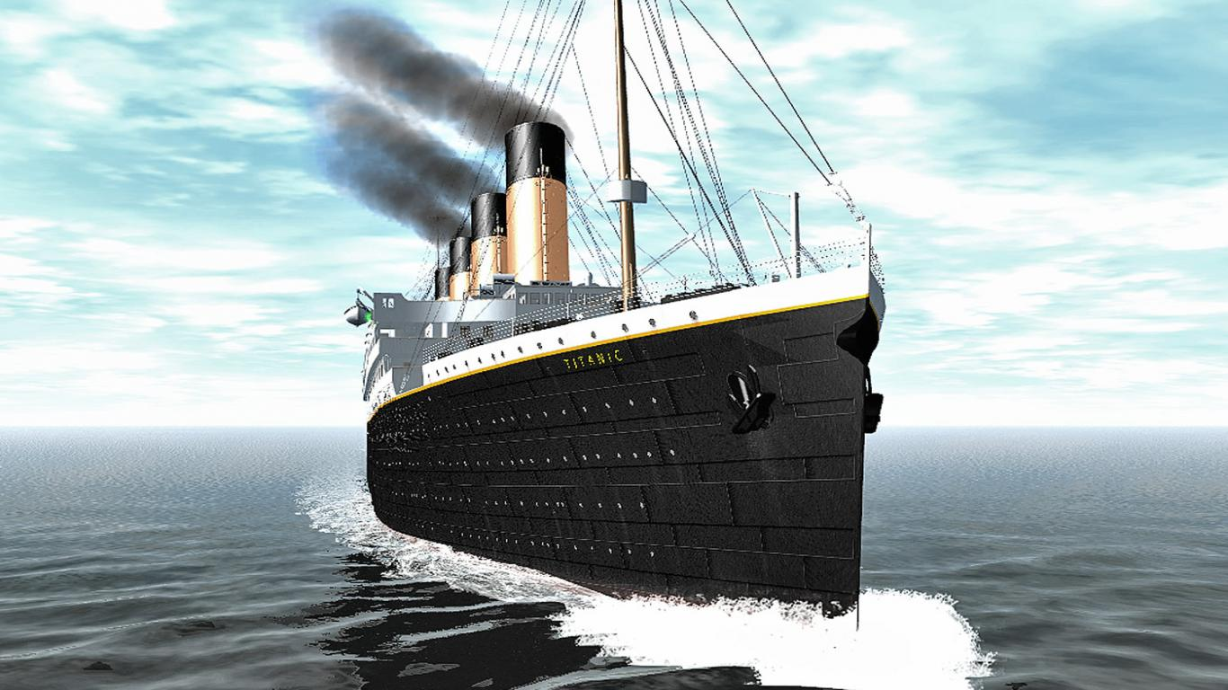 Download HD Ship Titanic Wallpaper - Download FREE Widescreen HD Ship