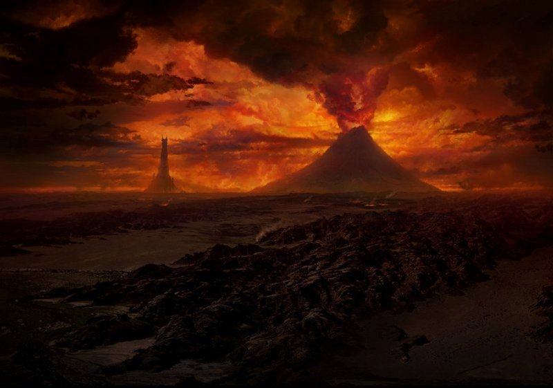 cool the dark lord volcano Wallpaper, Background, Picture and Layout