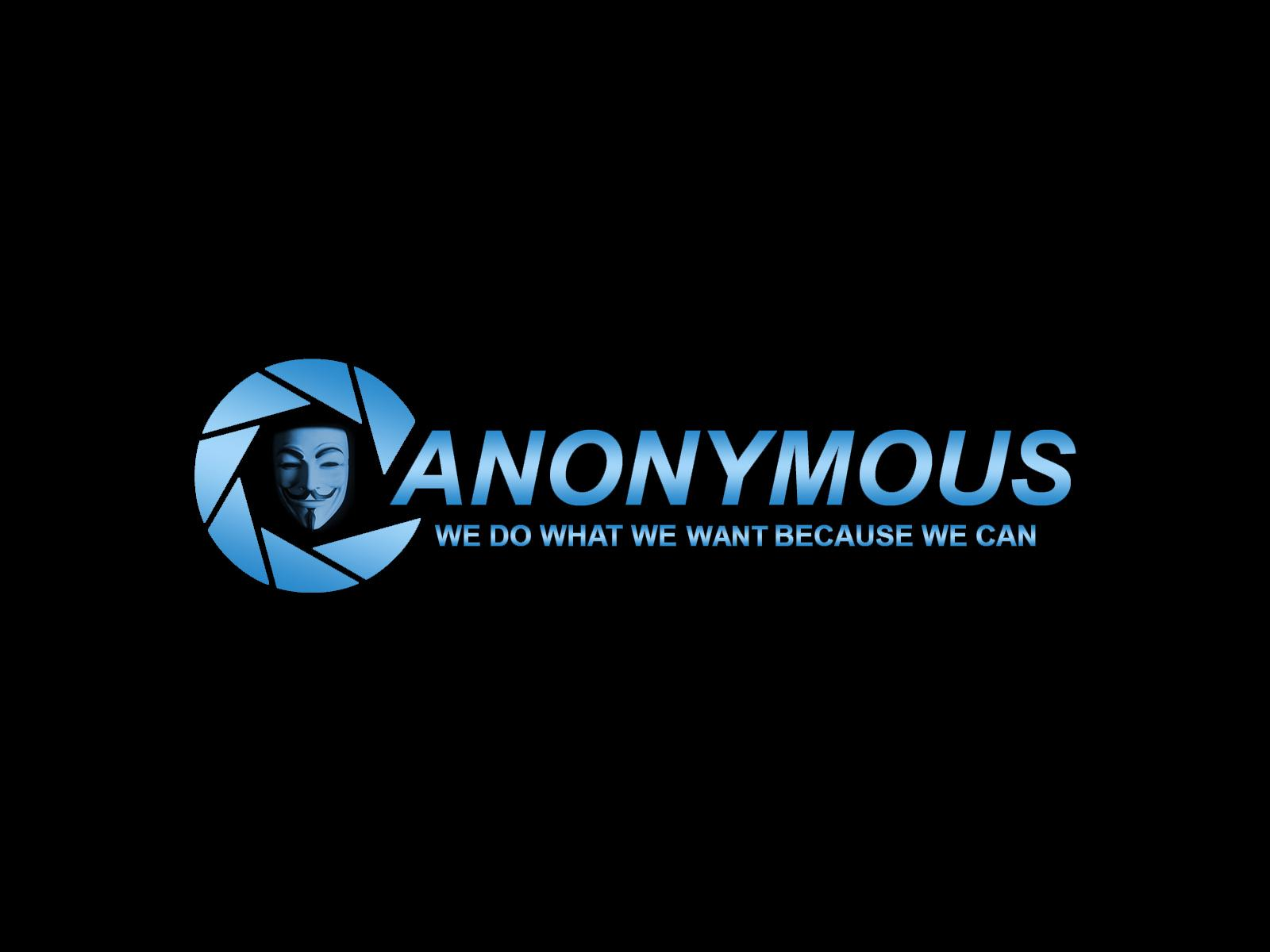 Black HD Anonymous Wallpaper   Anonymous Wallpaper Background Wallpaper