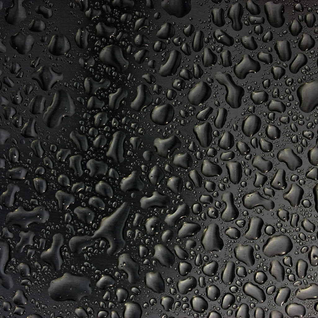 IPad Wallpaper   Black Water Drops IPad Wallpapers | MyWalls HD Wallpaper