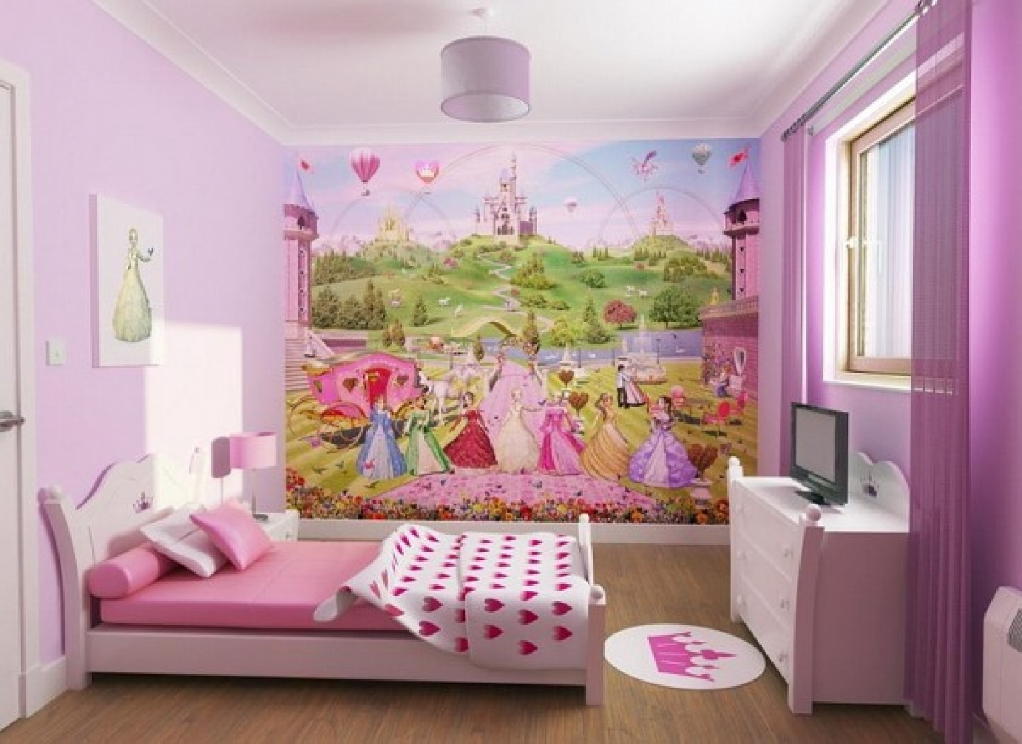 Modern And Beautiful Teen Girls Bedroom Decorating Ideas On | Home Wallpaper