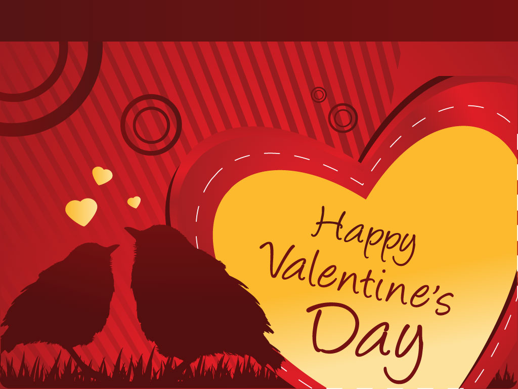 Just Waiting For Your Personal Message. Features Two Love Birds Wallpaper