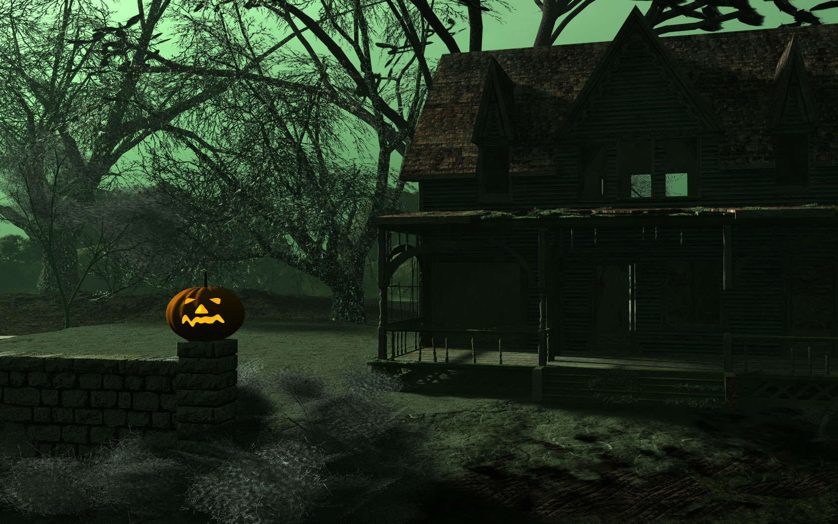 HD Happy Halloween 2012 Desktop Wallpaper 1080p FFGREEE2242 4 468×292 Wallpaper
