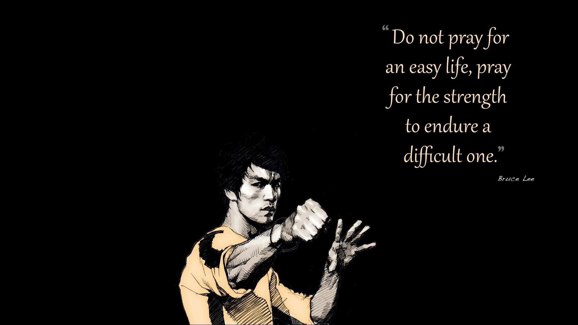 Bruce Lee Quotes Artwork Wallpaper