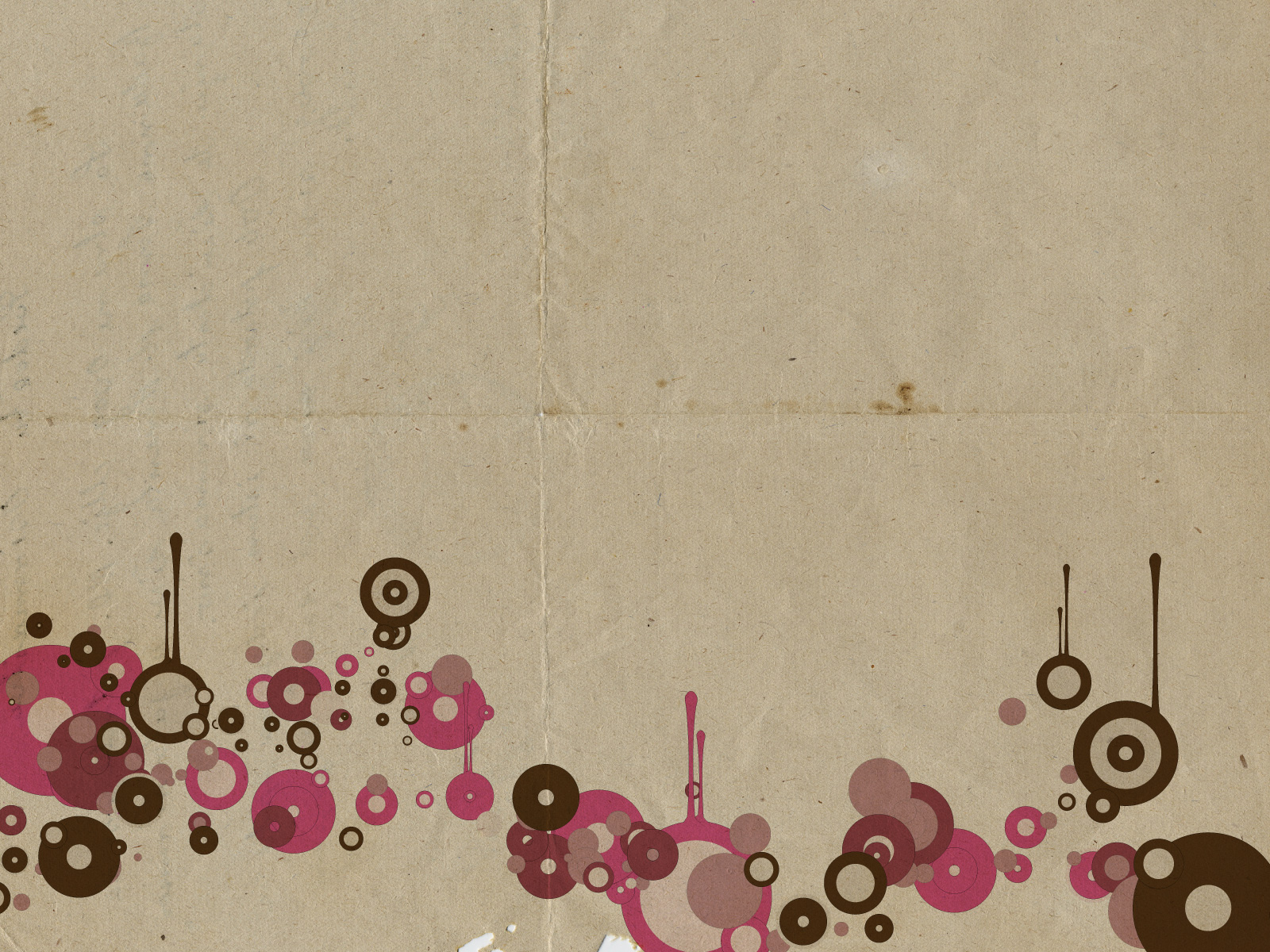 You Can Download Free Paper Vintage Circles PPT Background Backgrounds Wallpaper