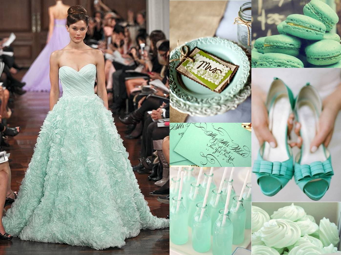 2013 Weddings Trends #1: Mint Color Everywhere | Weddings On The Wallpaper