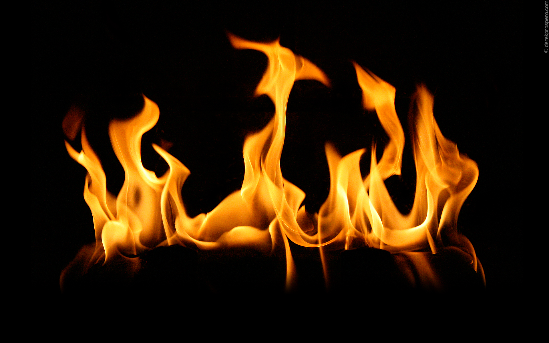 Fire Flames 3D Wallpaper Wallpaper