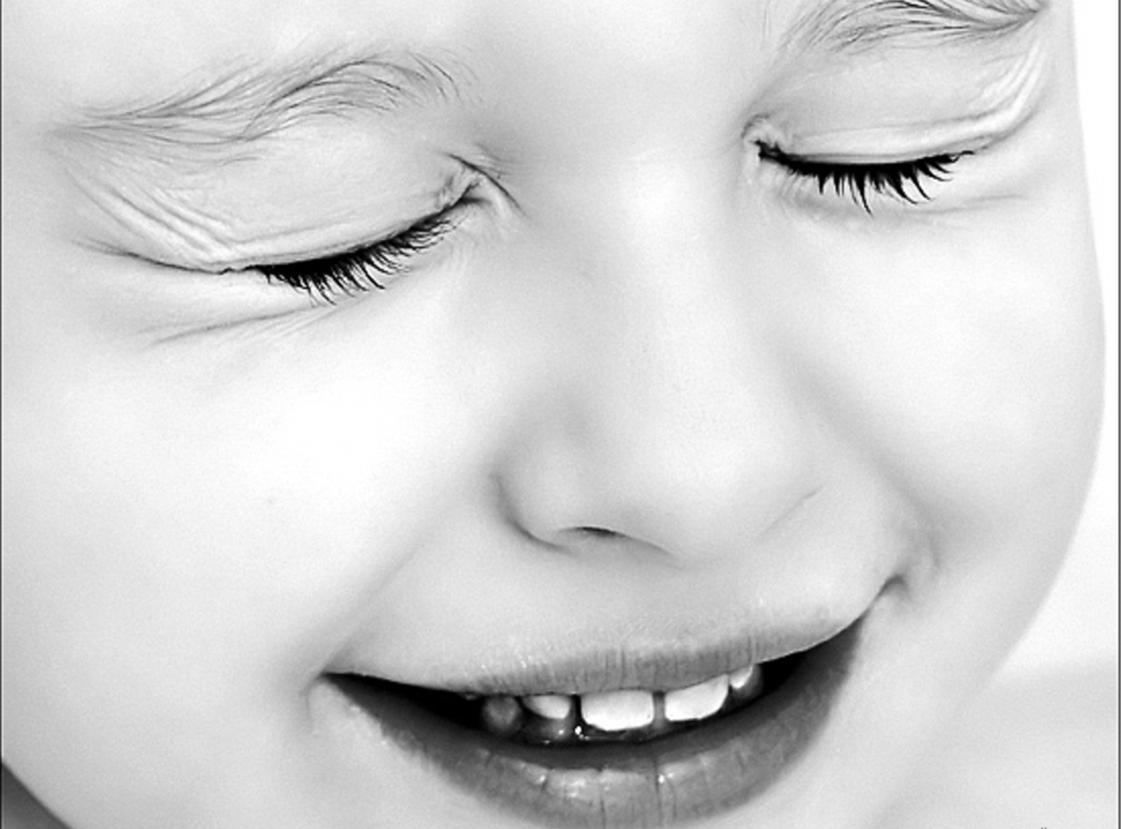 Cute Baby Baby Girl Beautiful Black And White Hd Wallpaper – Latest Wallpaper