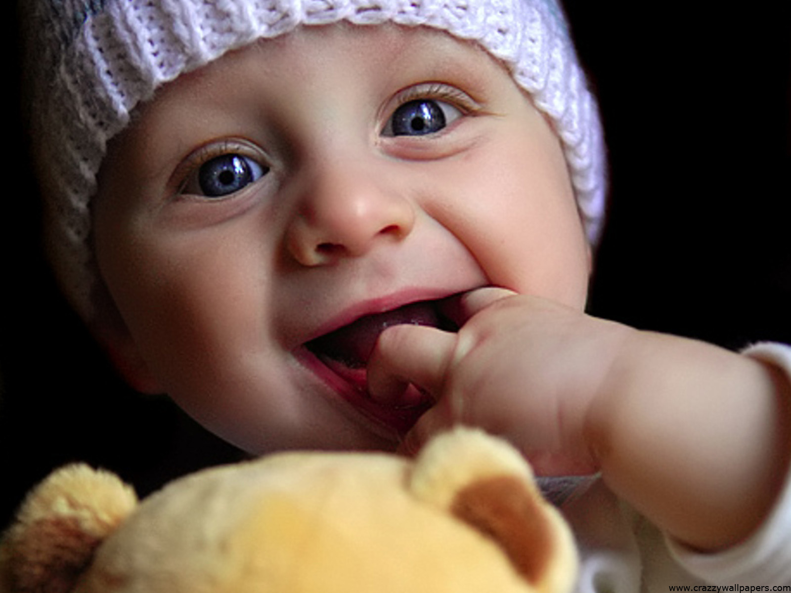 New Cute Baby Playing Doll Best Wallpaper HD Desktop #1776   Just Wallpaper