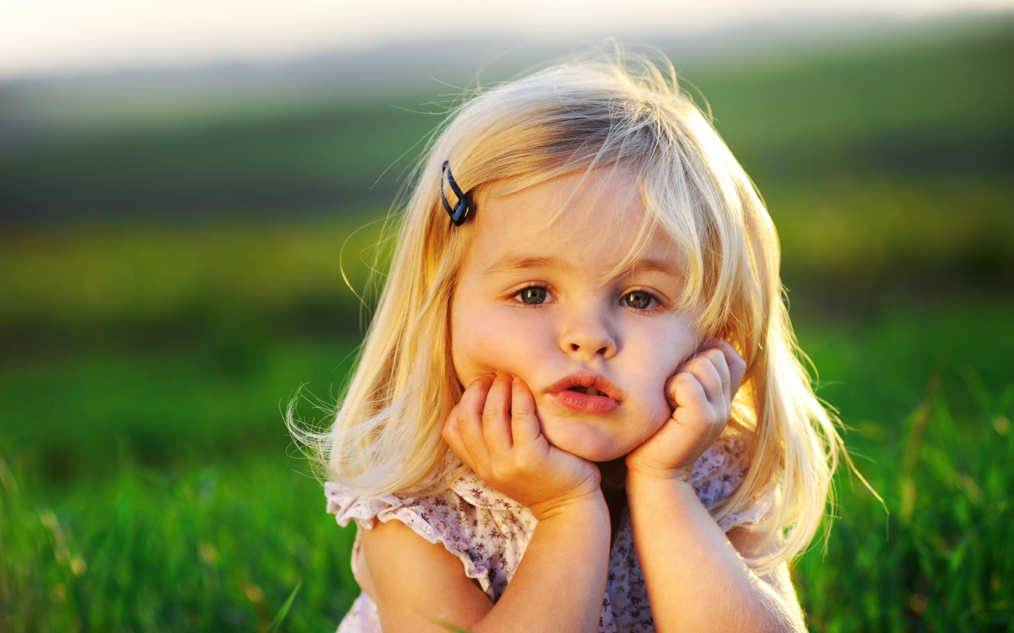 Cute Little Baby Girl In 1440×900 Resolution 1920x1080px Desktop Wallpaper