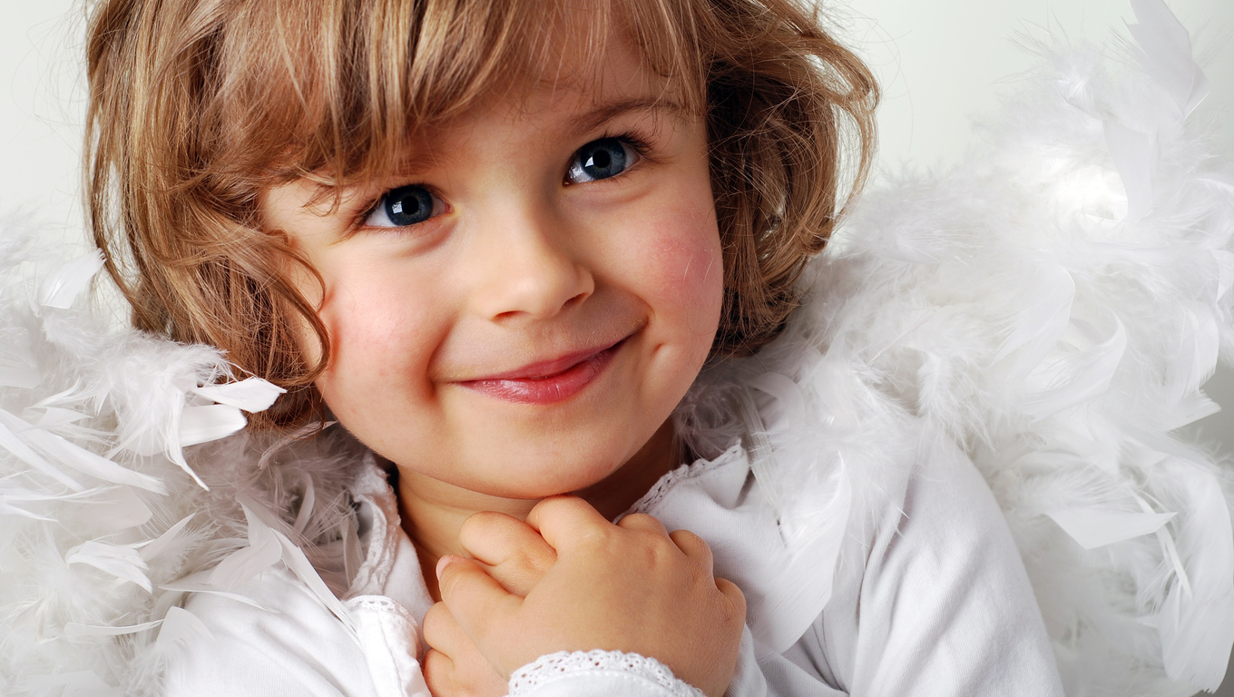 Home Baby Picture Cute Smiling Baby Picture Wearing White Shirt Baby Wallpaper