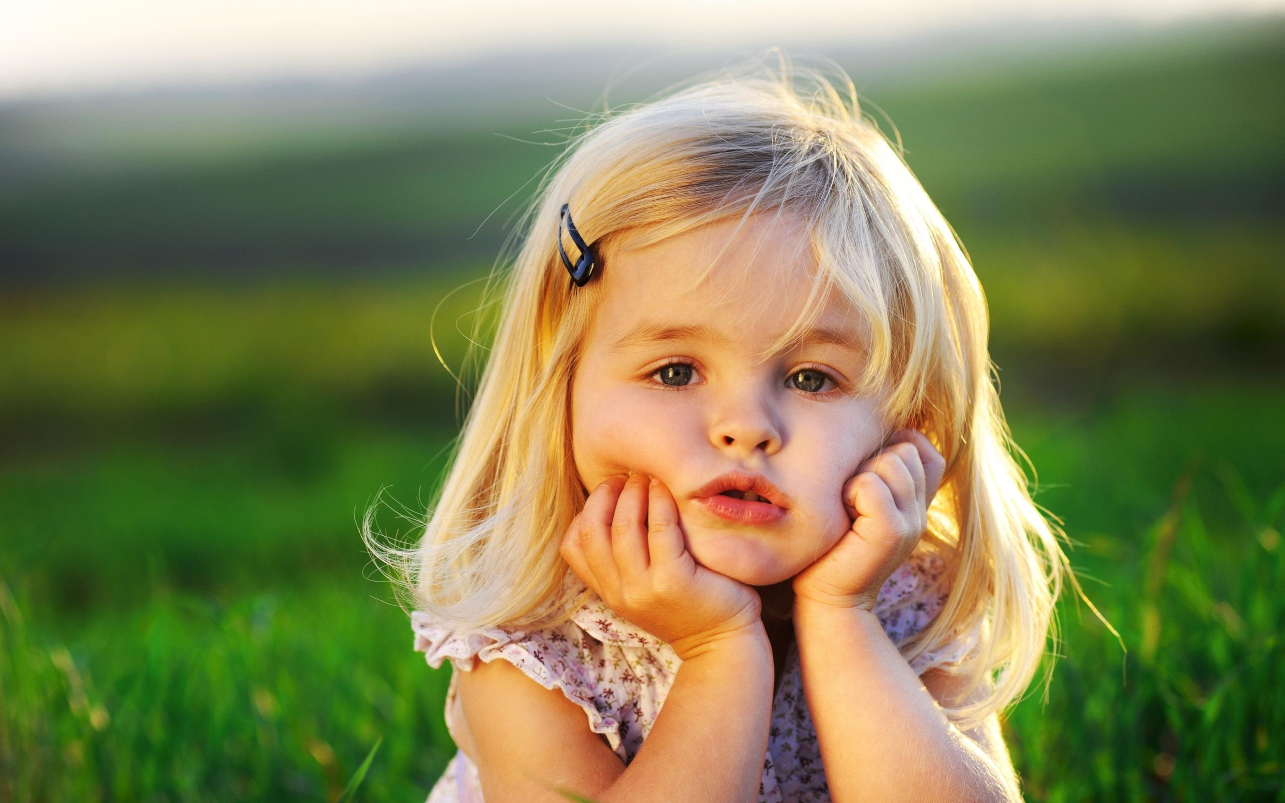 Cute Little Baby Girl Wallpaper Wallpaper