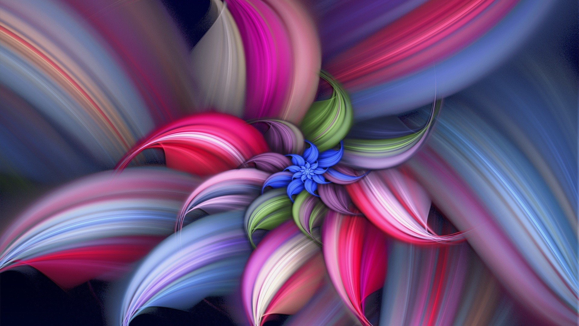 Abstract Flower Vector Design HD Wallpaper Abstract Flower Vector Wallpaper