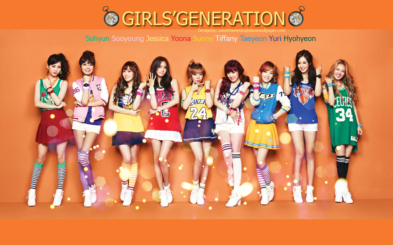 SNSD :: CASIO BABY G Wallpaper Wallpaper