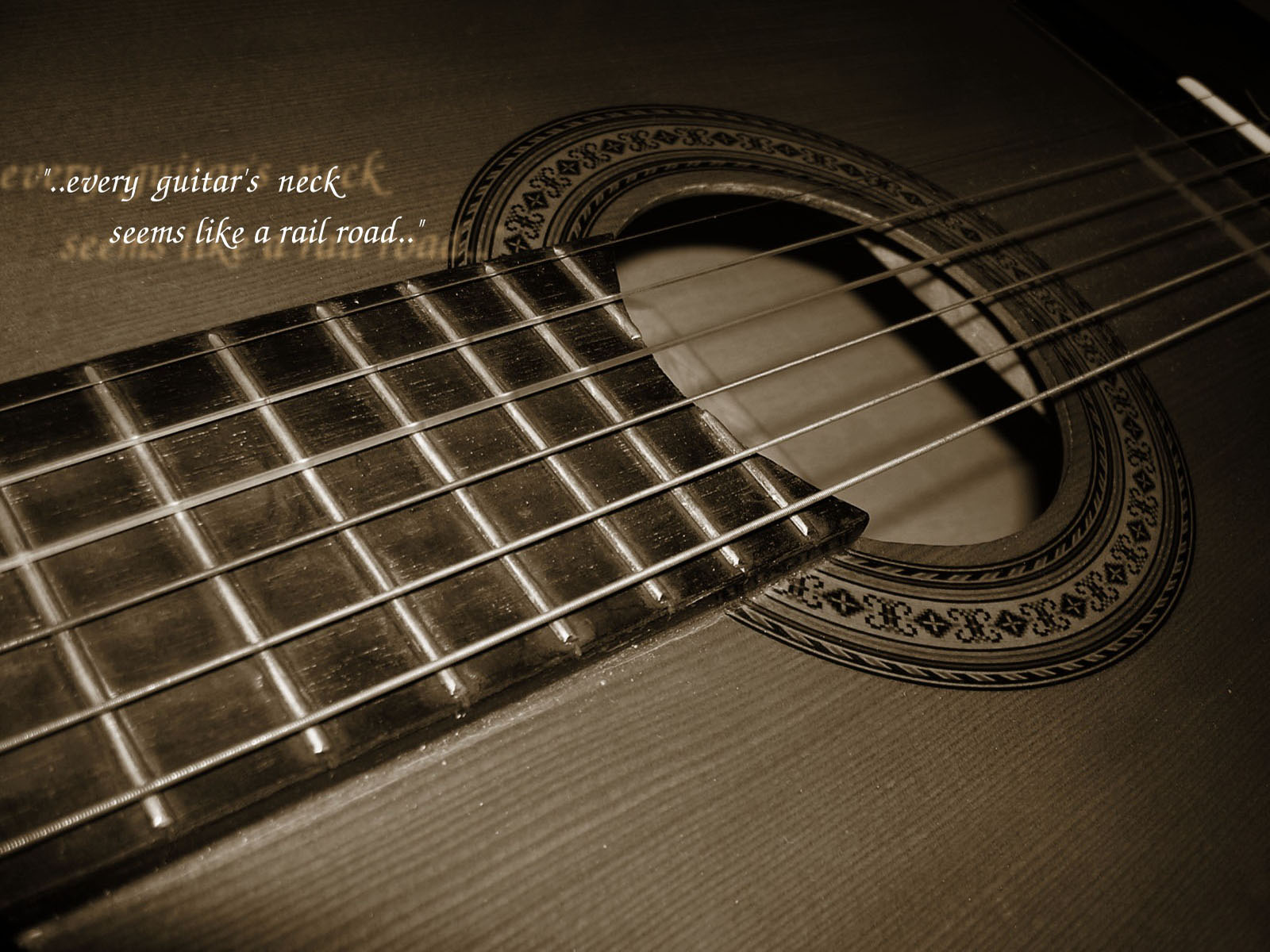 Guitar Strings White Old Guitar Stand To Each Other Wallpaper