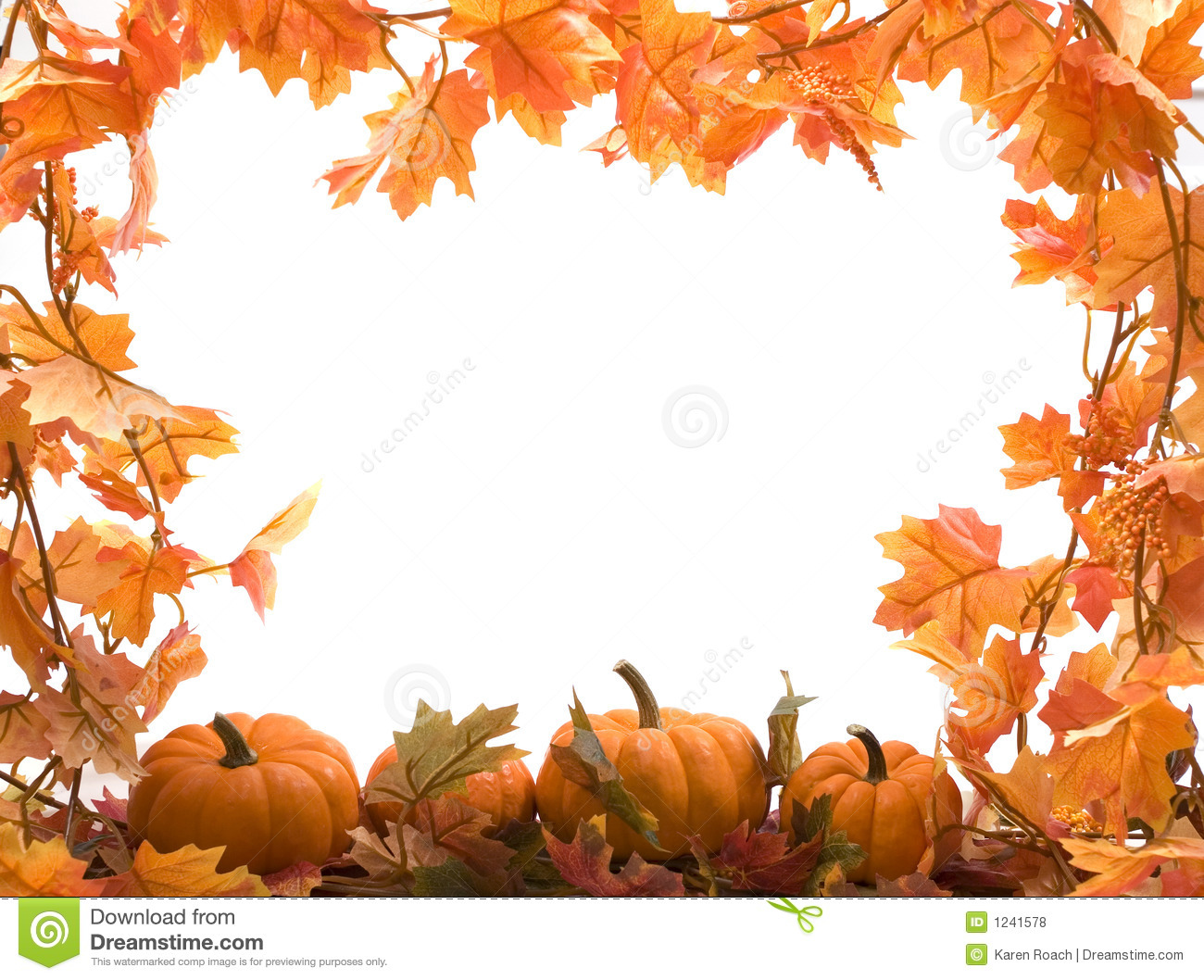 Pumpkins With Fall Leaves Royalty Free Stock Photos   Image: 1241578 Wallpaper