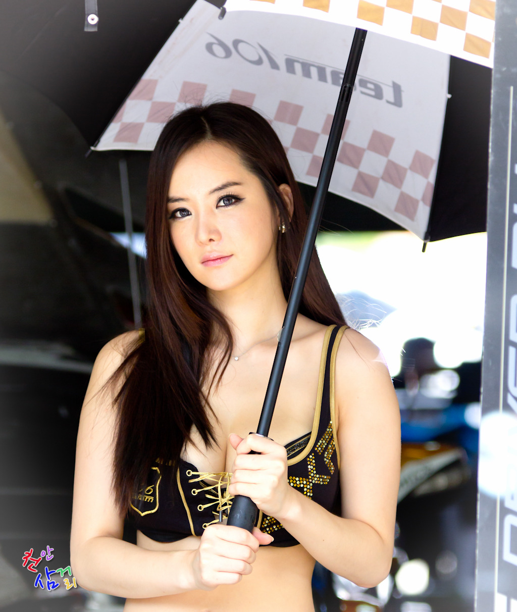 CuteKorean: Im Ji Hye, CJ SuperRace R5 2012 Wallpaper