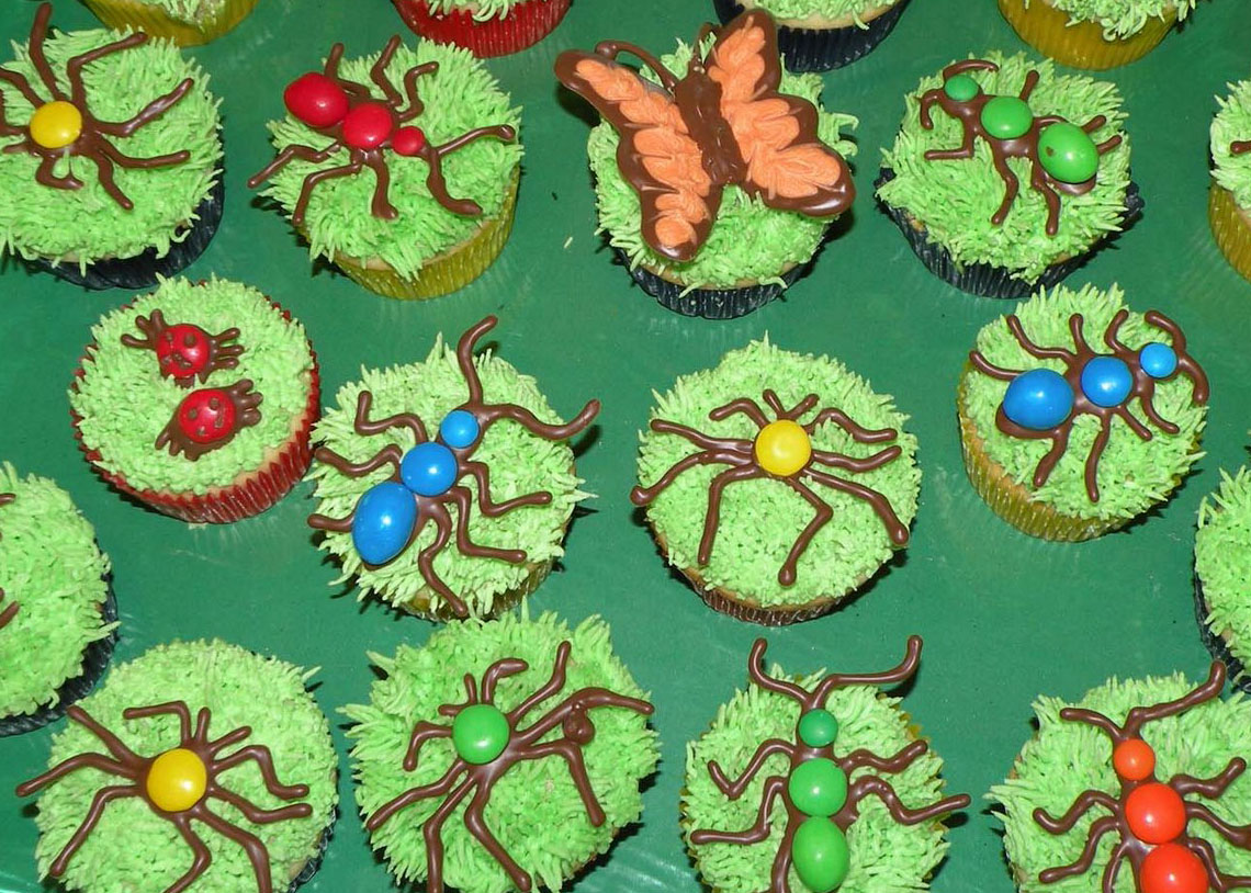 Bugs On Cupcakes? | Cakes From Melissa Wallpaper