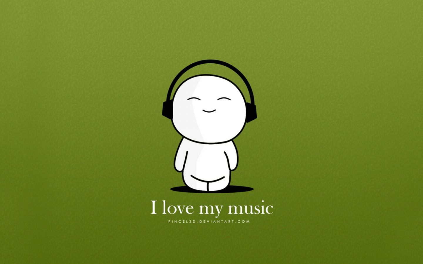 Funny Dude Listening To Music And Dance Wallpapers Wallpaper