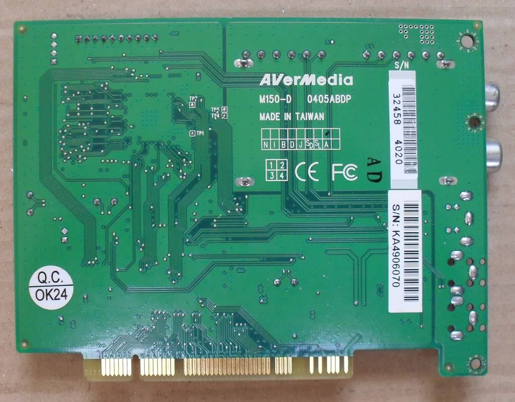 AVERMEDIA PHILIPS MD150 D PCI TV TUNER CARD FM1216ME UK | EBay Wallpaper