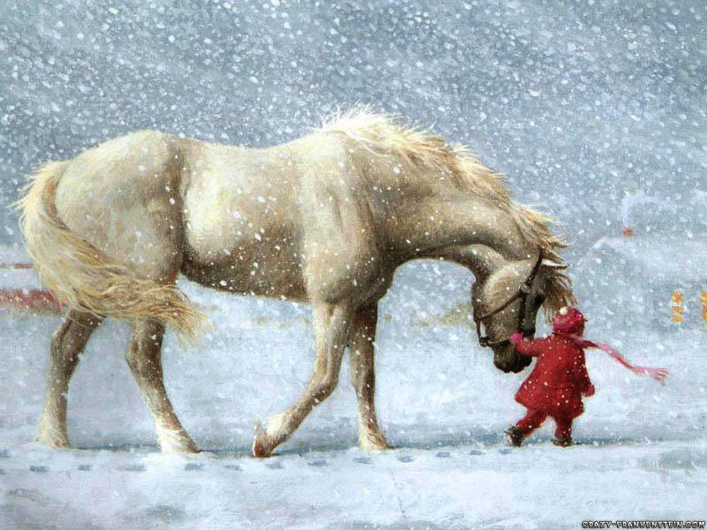 Girl Wallpaper   Download The Free Horse And Little Girl Wallpaper Wallpaper