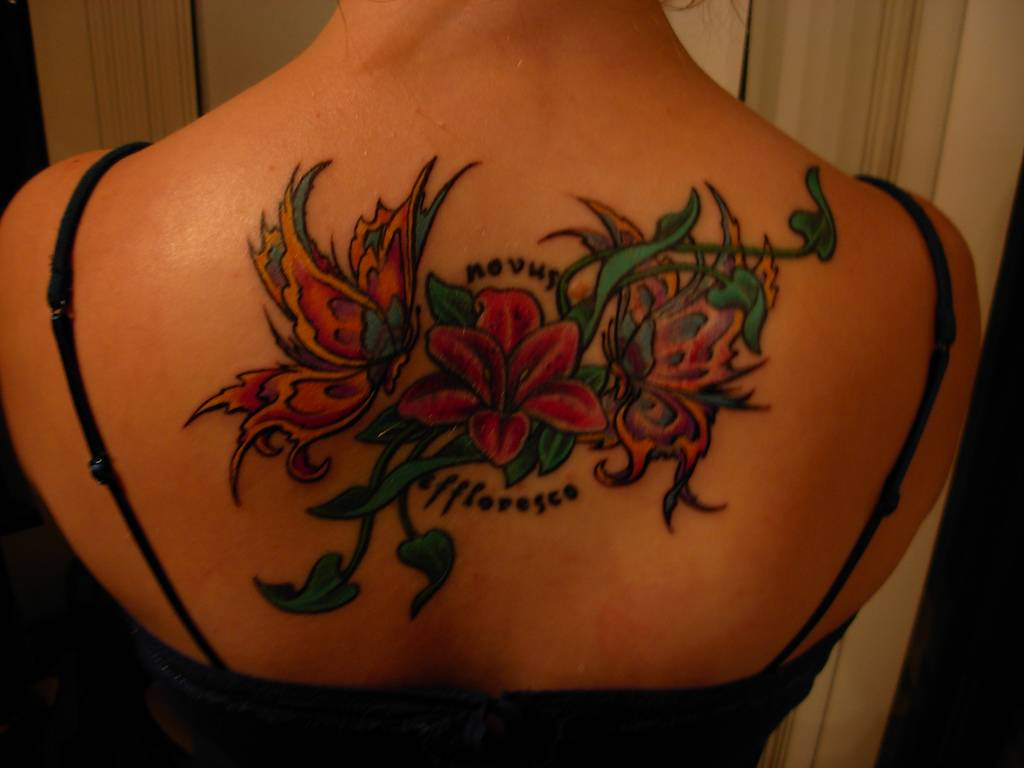 Awesome Examples Of Flower Tattoos For Girls Tattoo Design Wallpaper