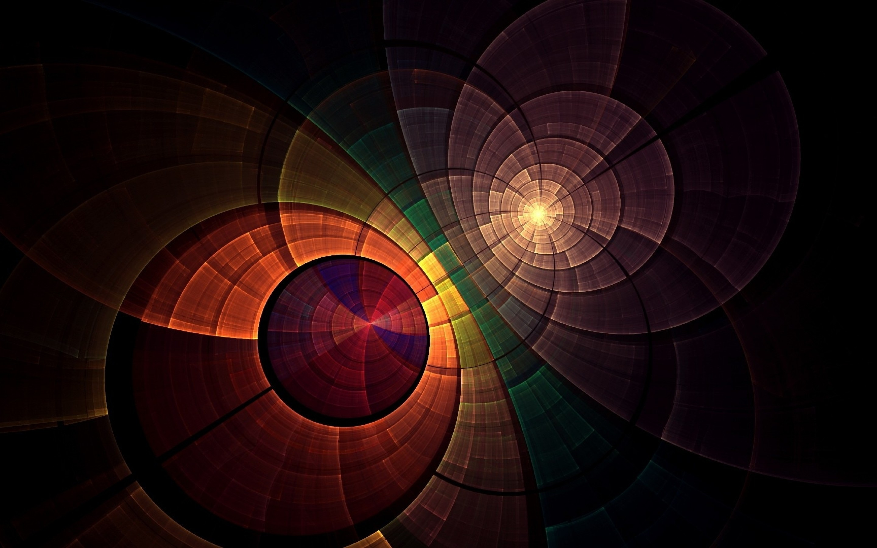 Abstract, Cirkel, Overlappende   Gratis Achtergronden Wallpaper