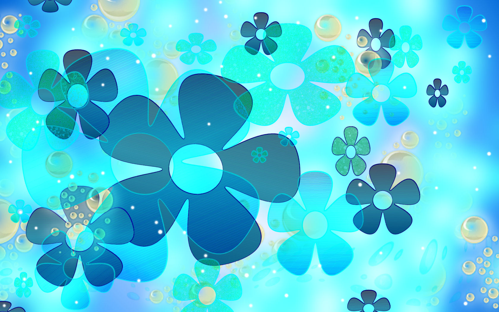 Sookie_Blue_Flower_Wallpaper_by_sookiesooker Wallpaper