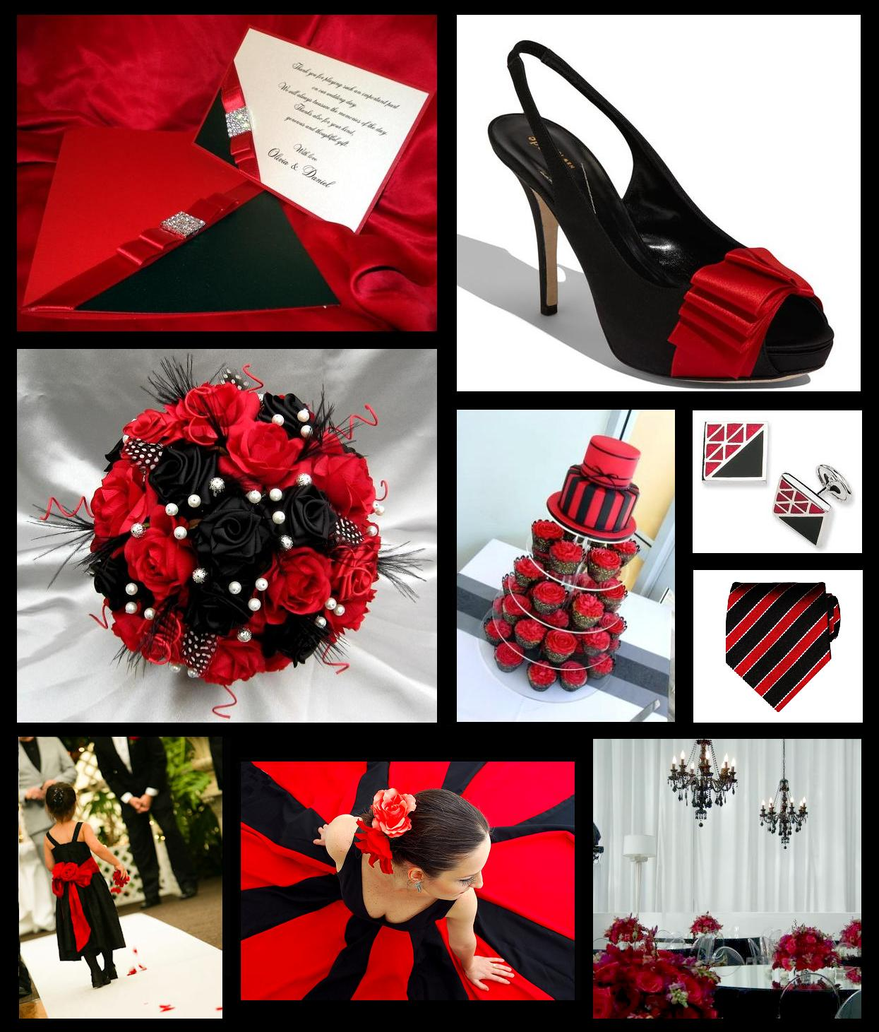 Black And Red Wedding Theme | Black Tie Wedding Invitations Blog Wallpaper