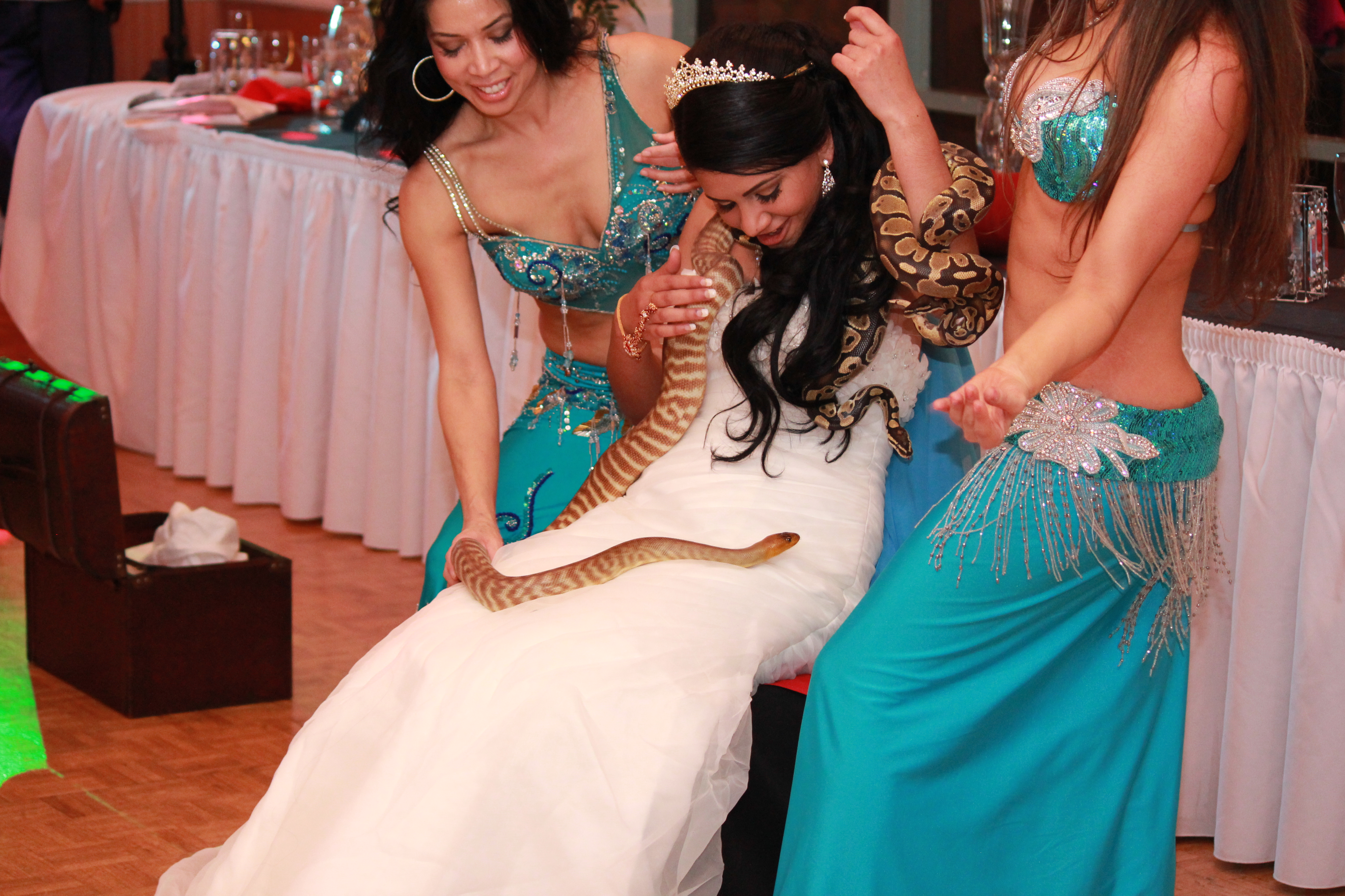 Real Event: Arabian Nights Quinceanera And Bollywood Sweet 16 Wallpaper