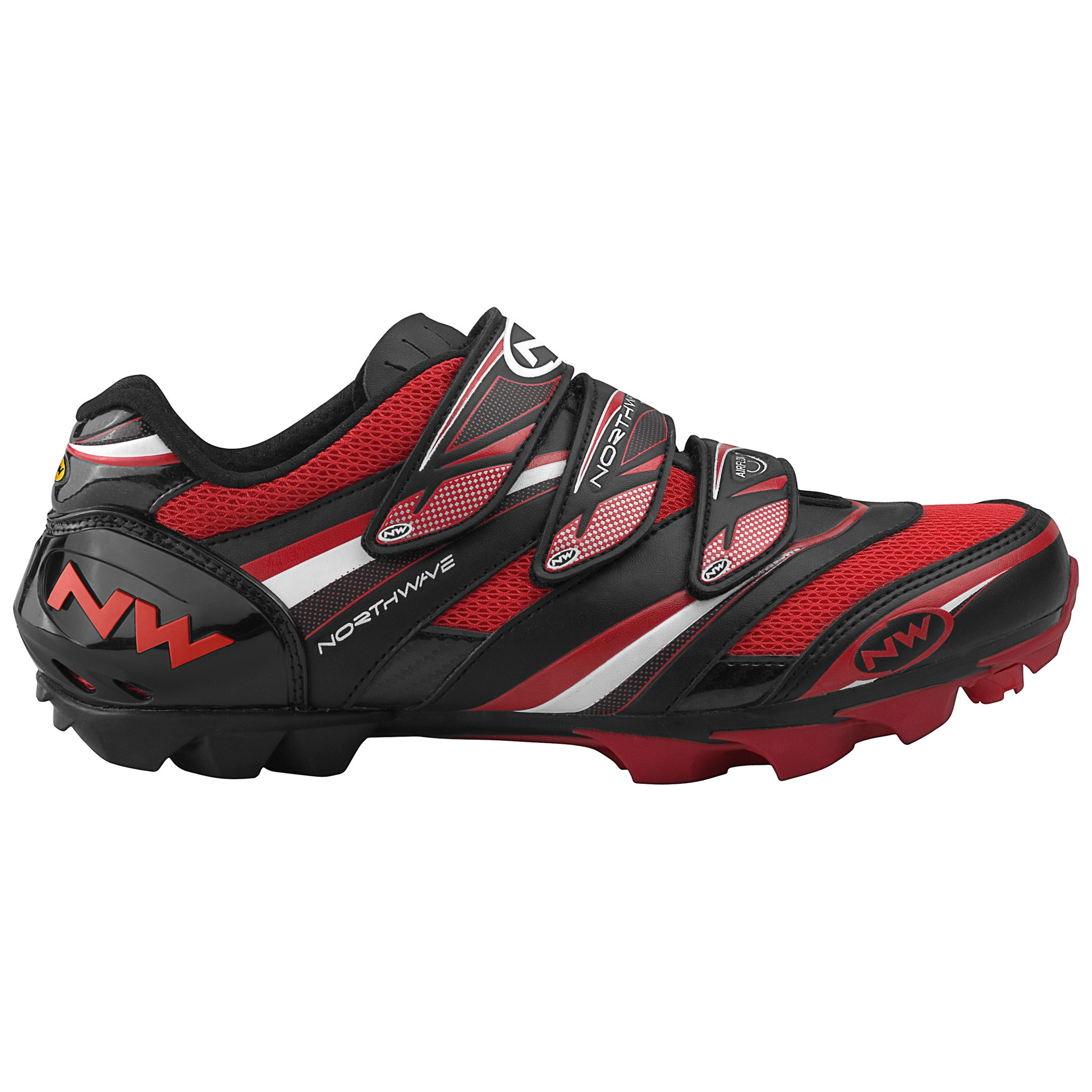 NORTHWAVE LIZZARD PRO Shoes Black Red 2011   Probikeshop Wallpaper