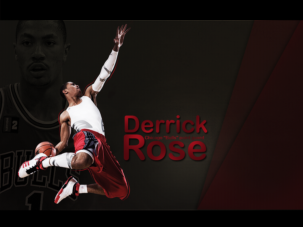 Wide Derrick Rose Basketball 2013 Wallpaper HD #435   Gembez.Com Wallpaper