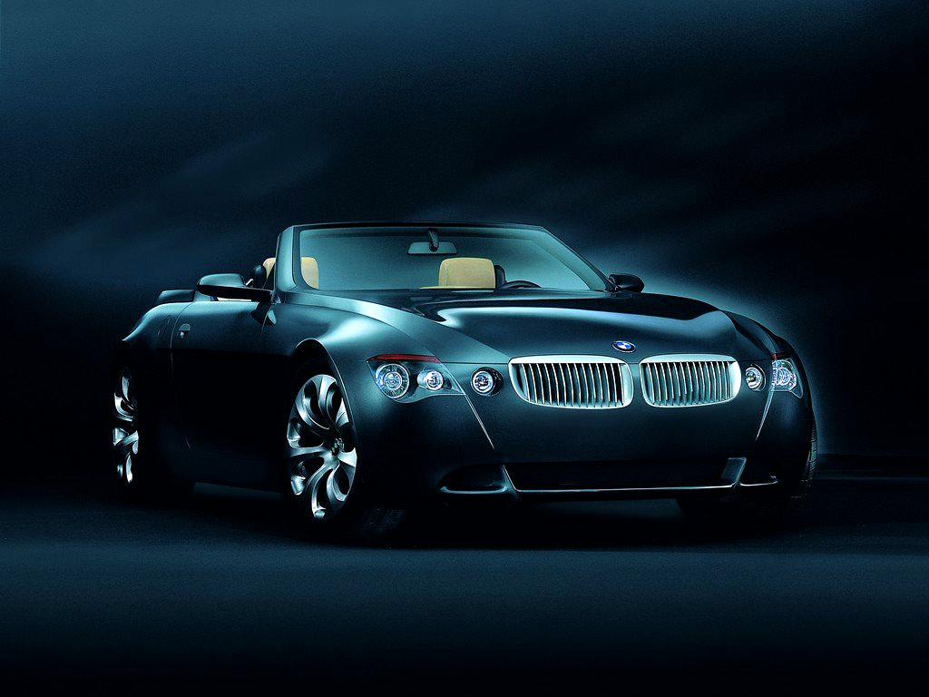 Expensive Car, Bmw, Impressive, Black, Simple Background, Luxury Wallpaper