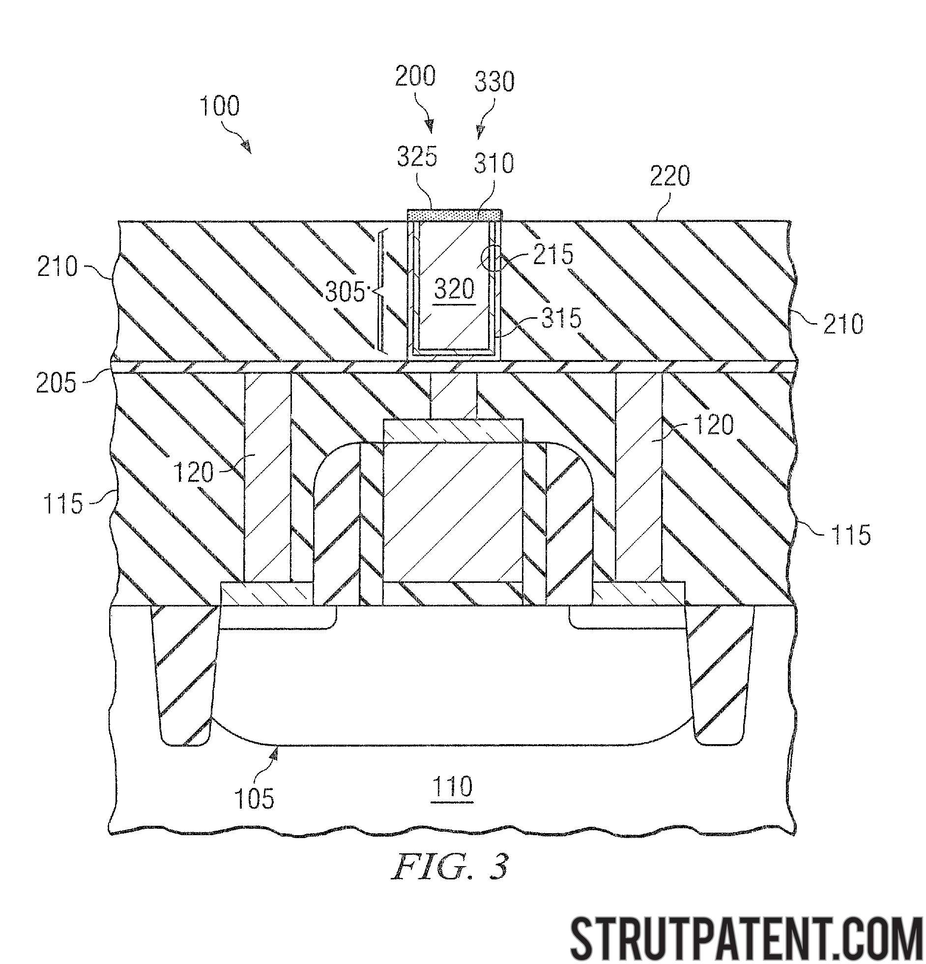 Semiconductor Device Manufactured By Reducing Hillock Formation In Wallpaper