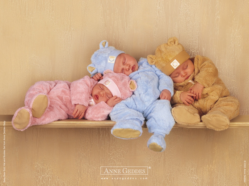 Cute Sleeping Babies Wallpaper/desktop Background In 1024×768 HD Wallpaper