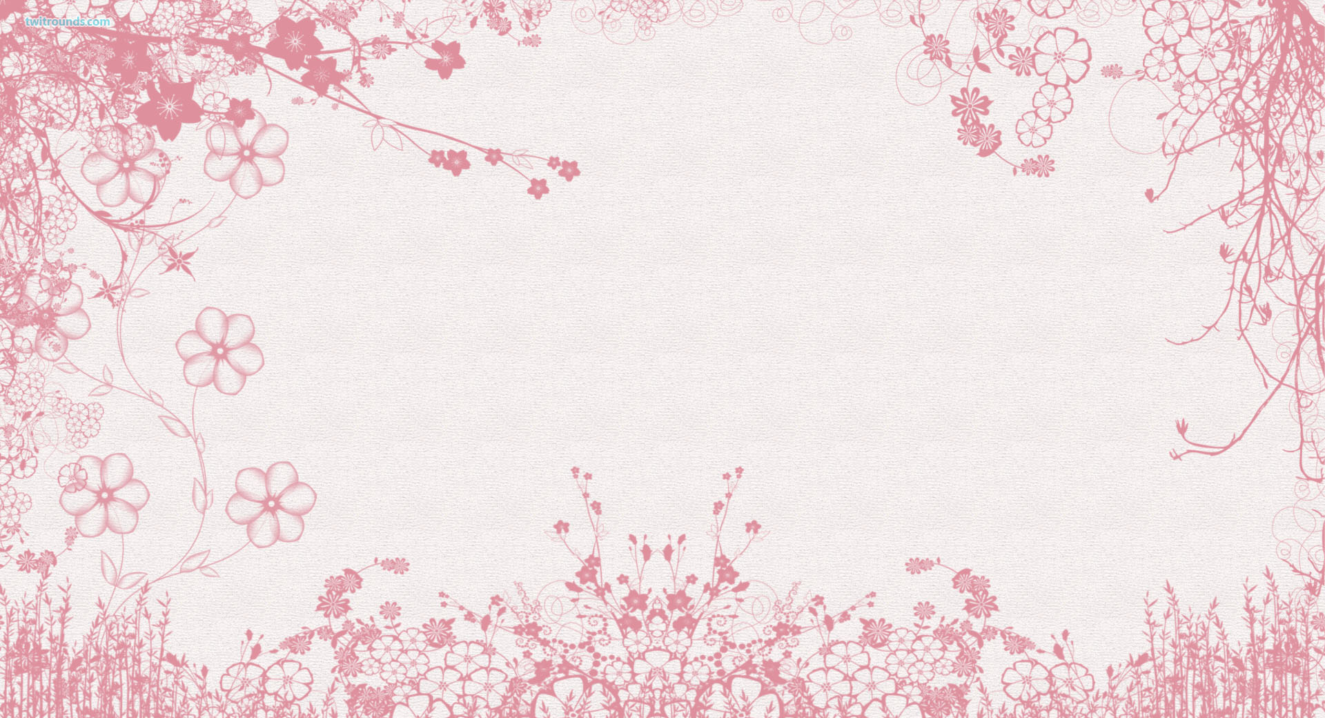 Pink Flowers 1 Pink And White Flower Pattern Desktop Wallpaper Desktop Wallpaper