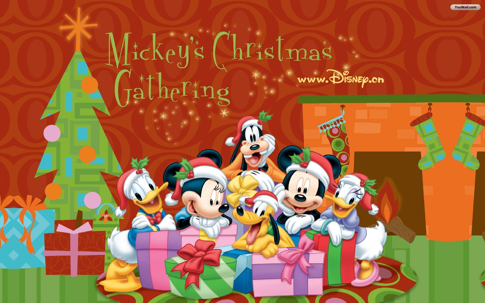 Christmas / New Year Wallpapers,Christmas / New Year,Disney Wallpapers Wallpaper