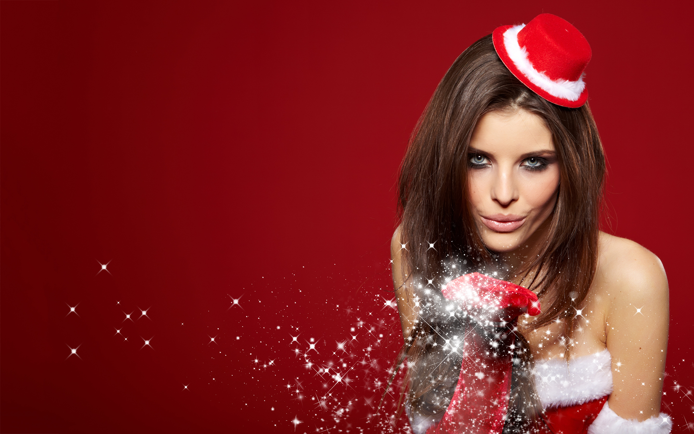 Hot christmas girl wallpapers pictures photos 4783 hd for Hot christmas pics