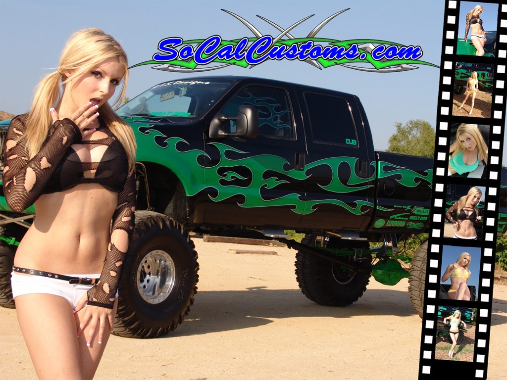 Free Truck Girl Wallpaper   Download The Free Truck Girl Wallpaper Wallpaper