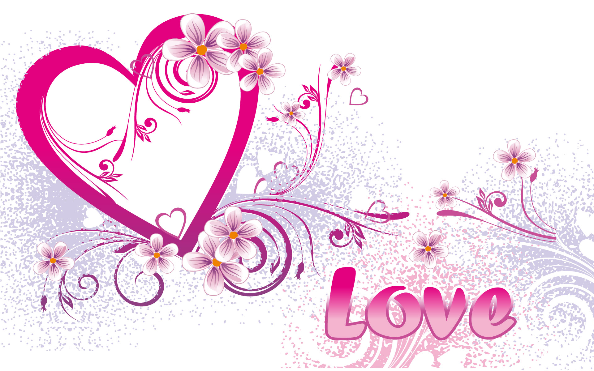 Abstract 3d Wallpaper Of Love Quotes Wallpaper