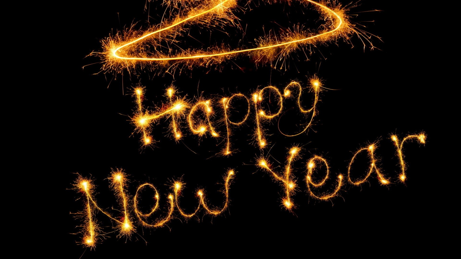 Abstract Free Happy New Year Wallpaper 2013 Wallpaper