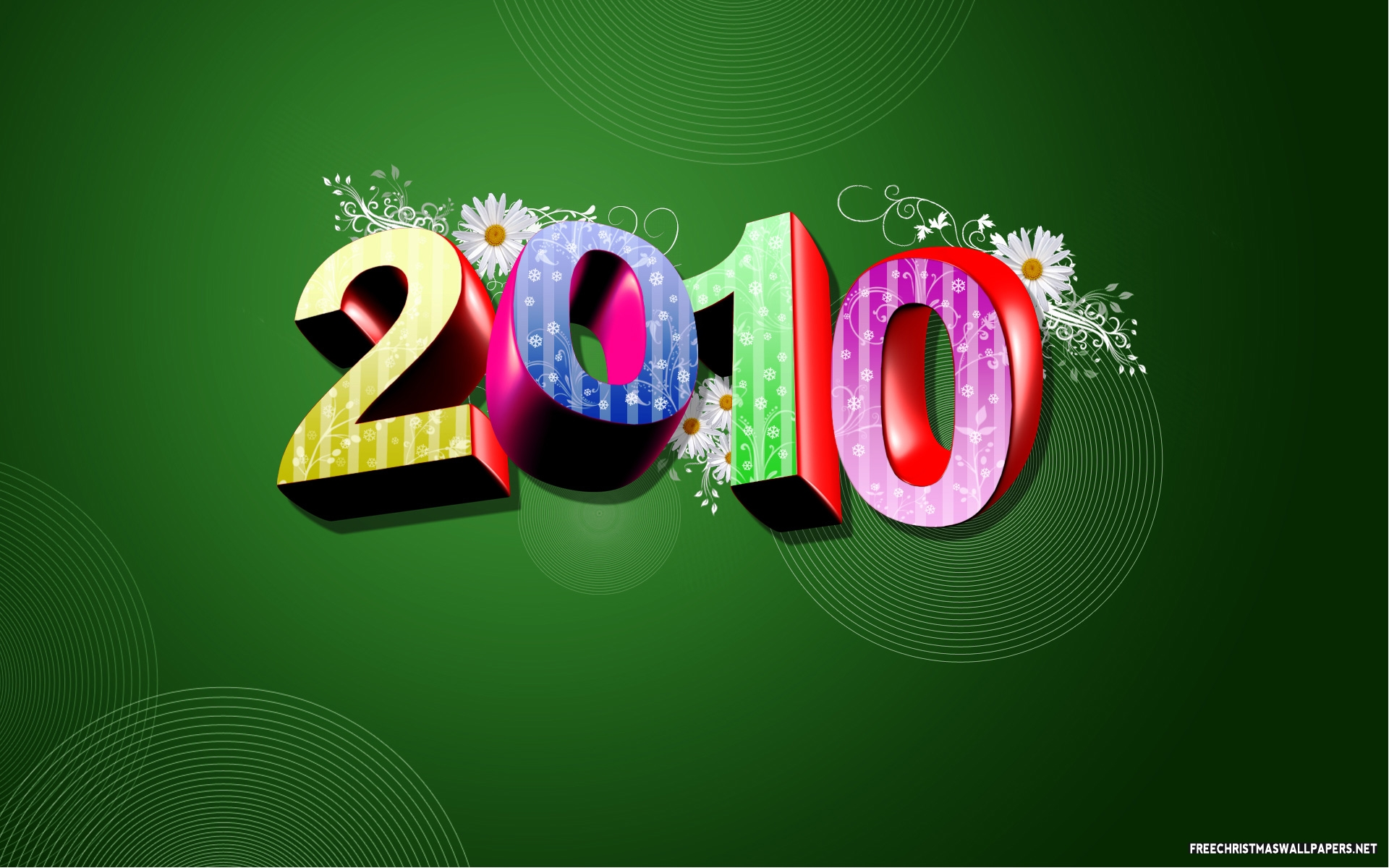Abstract Free New Year Wallpapers And Screensavers Wallpaper