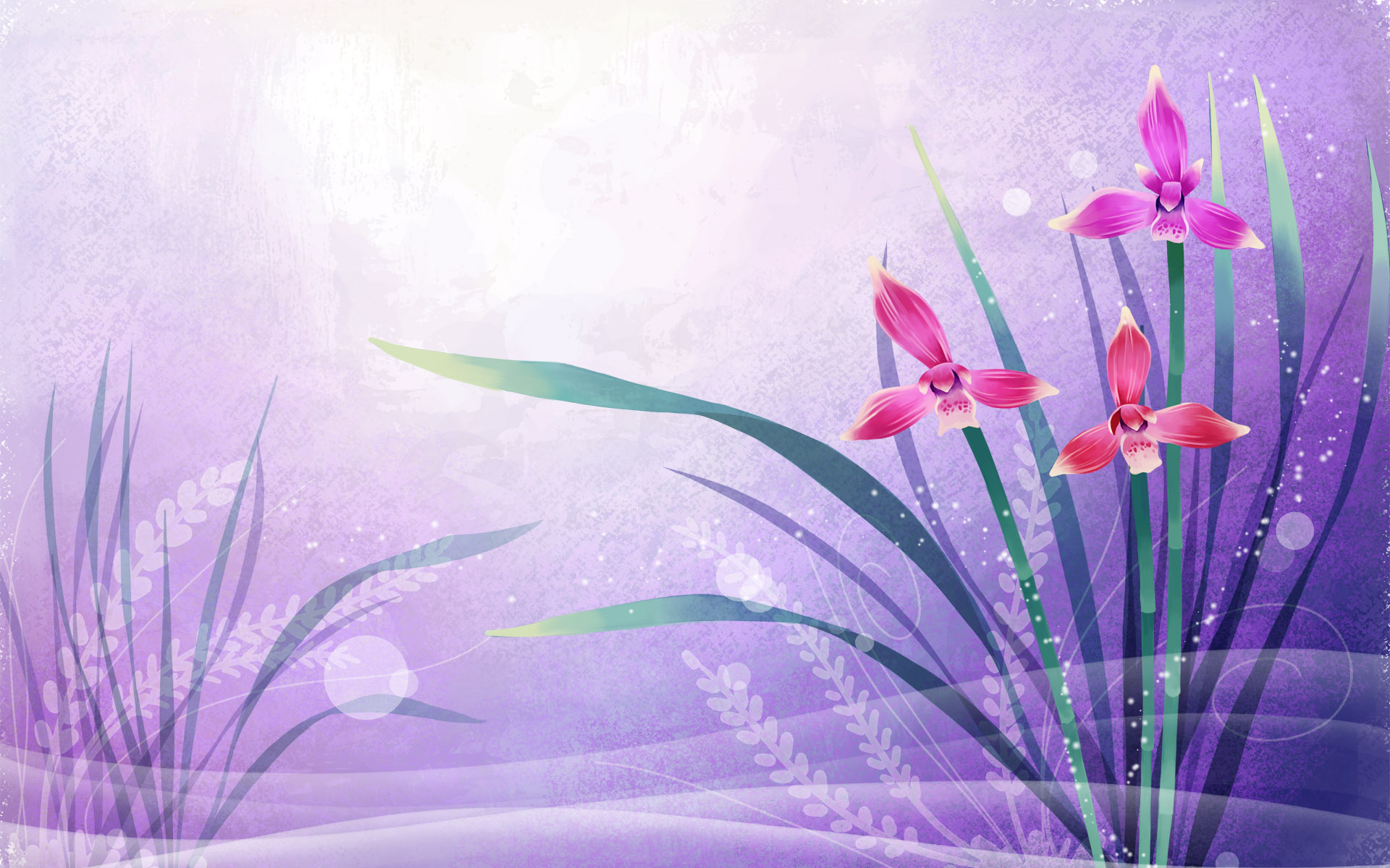 Abstract Free Wallpaper Nature Flowers Wallpaper